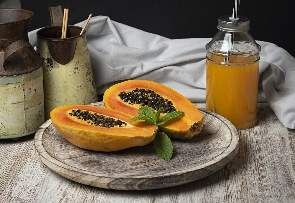 papaya-half