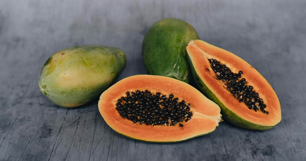 papaya-unpalatable